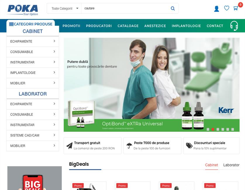 Poka e-commerce platform